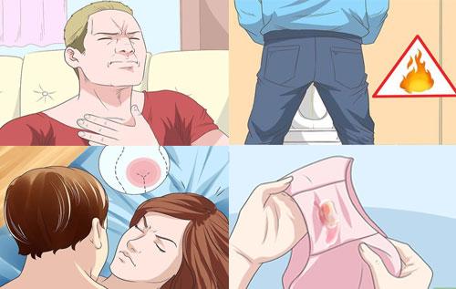 Những triệu chứng thường thấy của bệnh lậu và chlamydia tương đối giống nhau