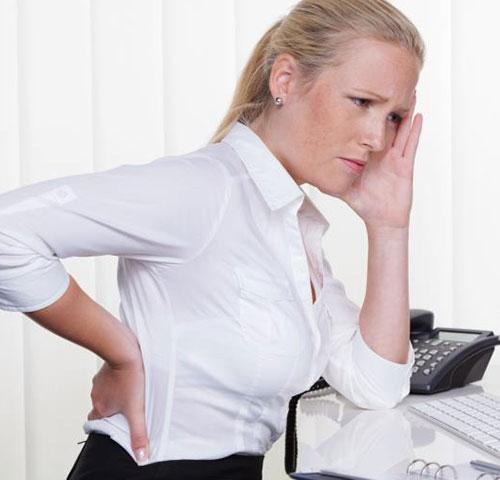 Mẹo giúp giảm đau lưng của người làm văn phòng