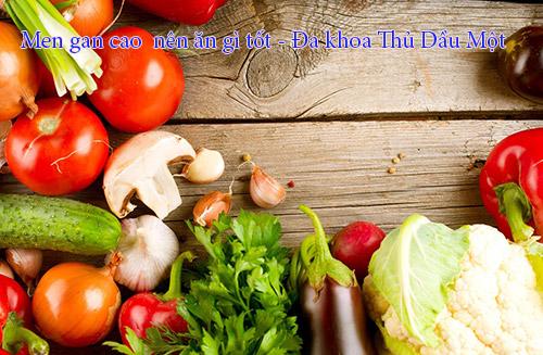 Người bị men gan cao nên ăn gì để tốt cho sức khỏe