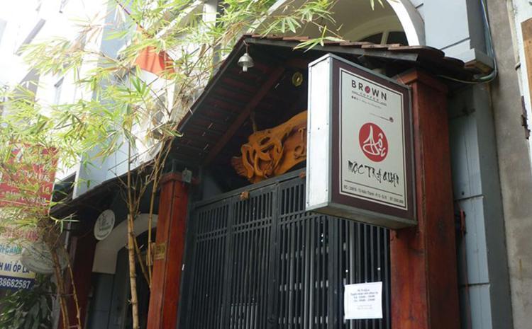 Mộc Trà Quán phong cách Nhật Bản