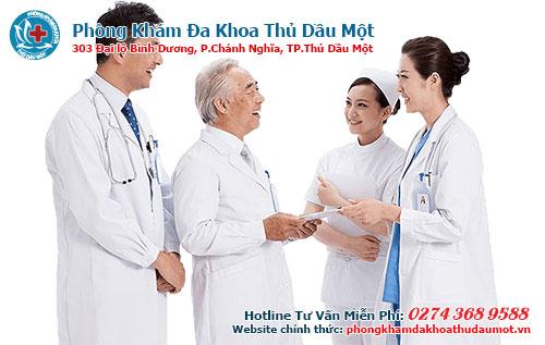 Phòng khám có đội ngũ bác sĩ chuyên khoa giàu kinh nghiệm